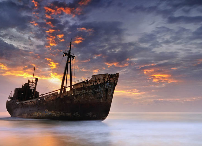 25 затонувших кораблей