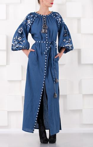 Длинные платья-вышиванки на лето 2016 от Varenyky Fashion