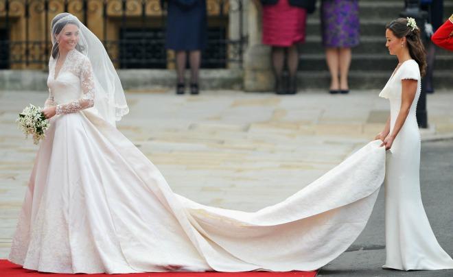 Весільна сукня Кейт Міддлтон