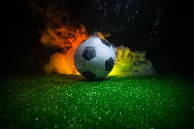Огененый футбол