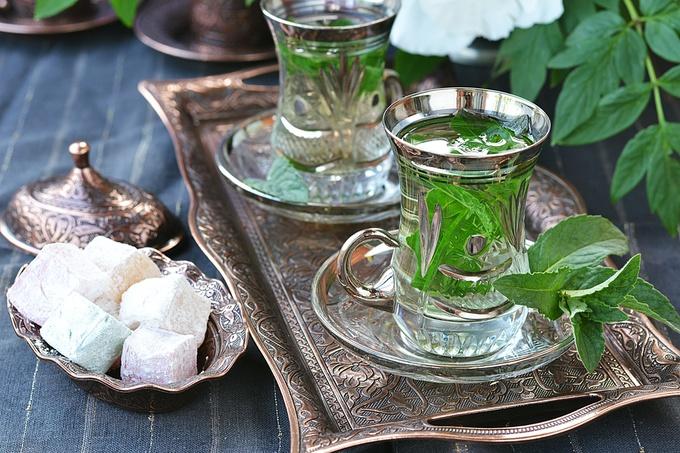 Чай з м'ятою