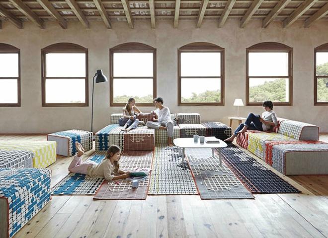 Вишиті доріжки для підлоги і меблів