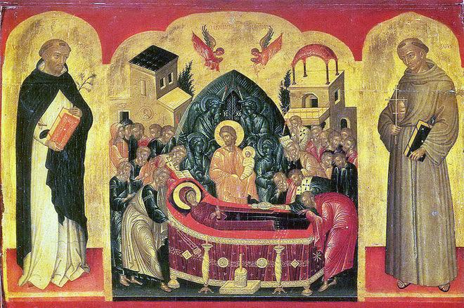 Ікона Успіння Пресвятої Богородиці
