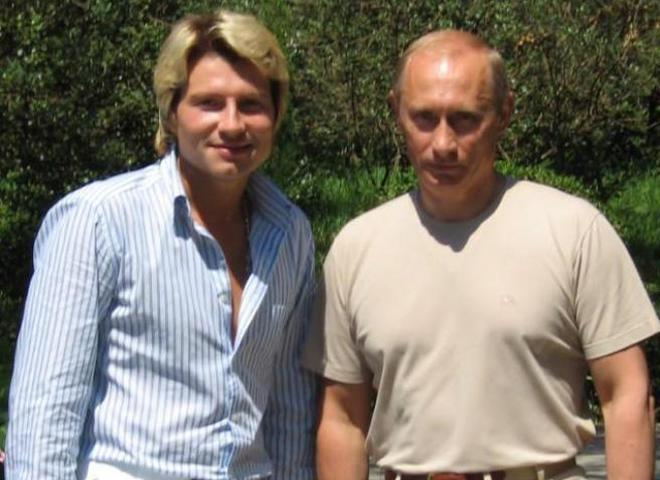 Николай Басков и Владимир Путин