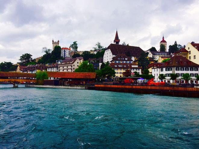 Влада Литовченко: Цюріх і Люцерн - найкращі куточки Швейцарії