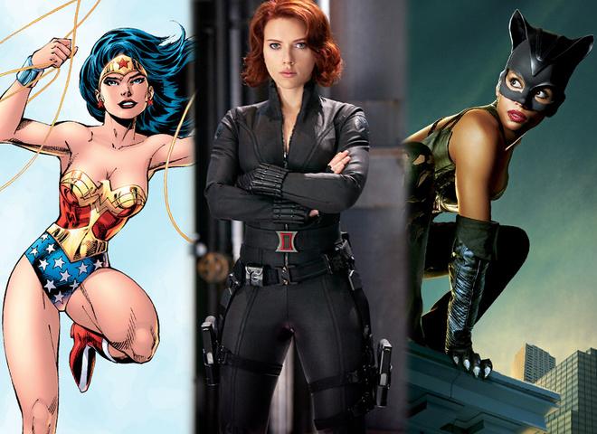 Самая сексуальная супергероиня комиксов