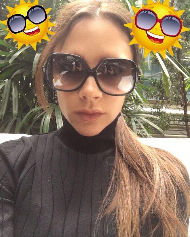 Як вибрати сонцезахисні окуляри: поради від Вікторії Бекхем
