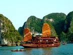 Бухта Ха Лонг во Вьетнаме