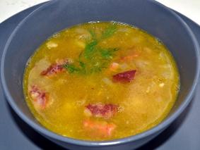 Гороховый суп с копченостями пошаговый рецепт с фото