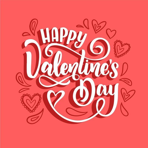 День святого Валентина: привітання в картинках