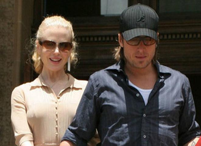 Николь Кидман и ее супруг Кейт Урбан