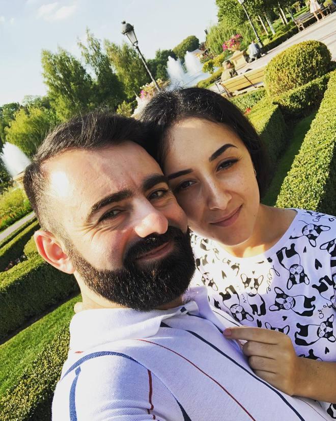 Арам Арзуманян з дружиною