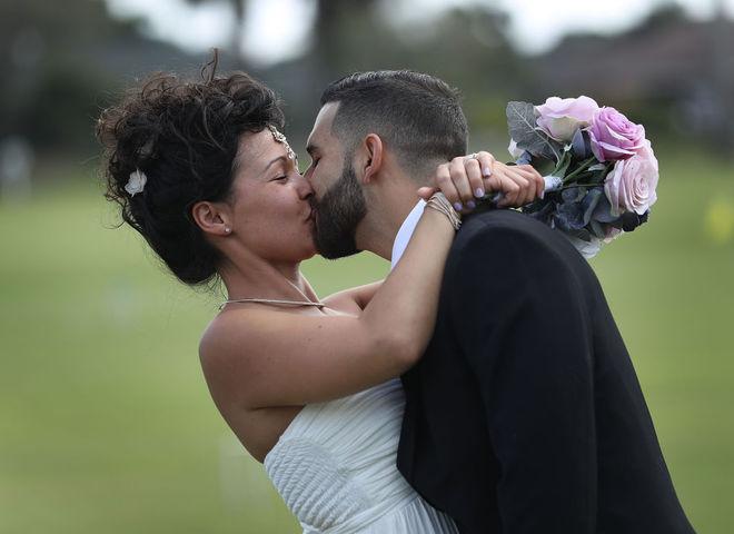 свадьбы в День святого Валентина