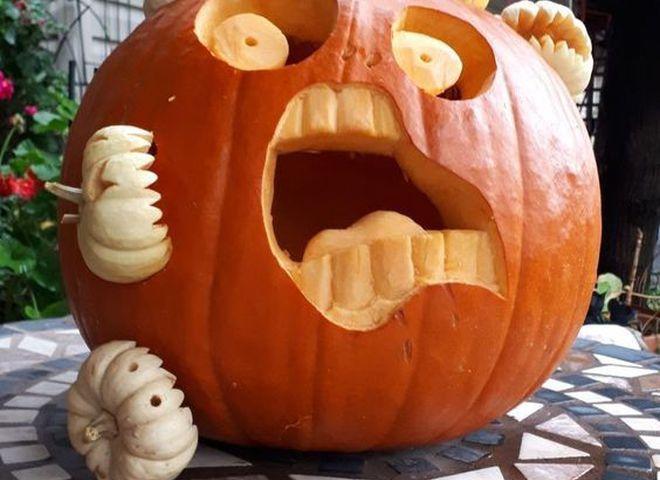 Декор на Хэллоуин, который отпугивает злых духов