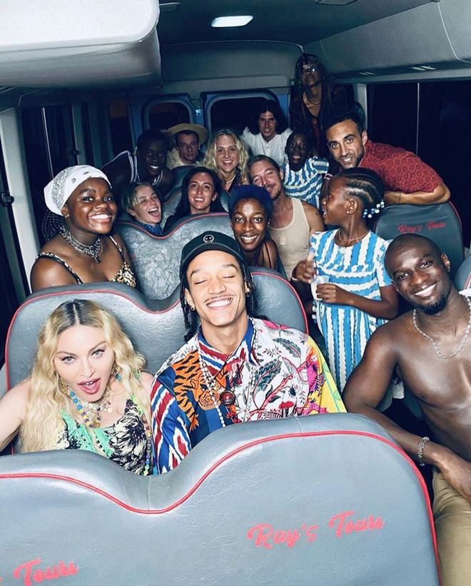 Вечірка Мадонни на Ямайці