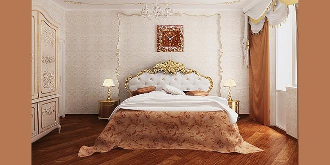 комната в стиле барокко