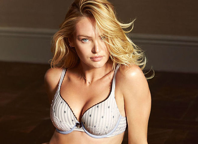 Кендіс Свейнпол в рекламній кампанії Victoria's Secret