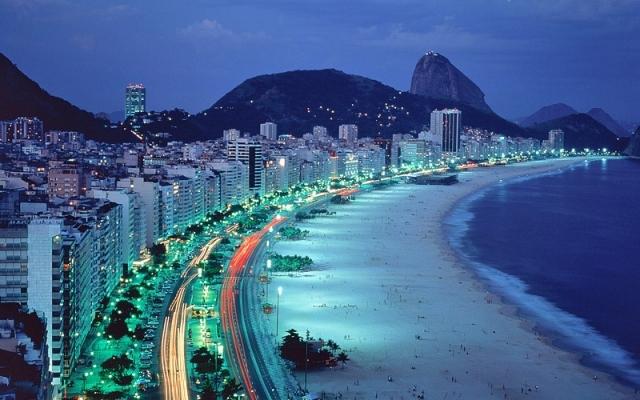 Бразиля фото: Бразильский пляж