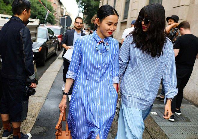 Тиждень моди в Мілані весна-літо 2017: яскраві street style образи