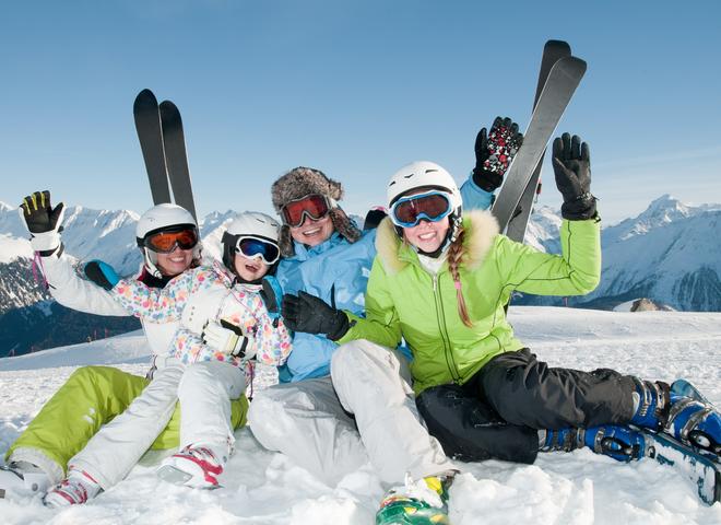3 лучших горнолыжных курорта для детей