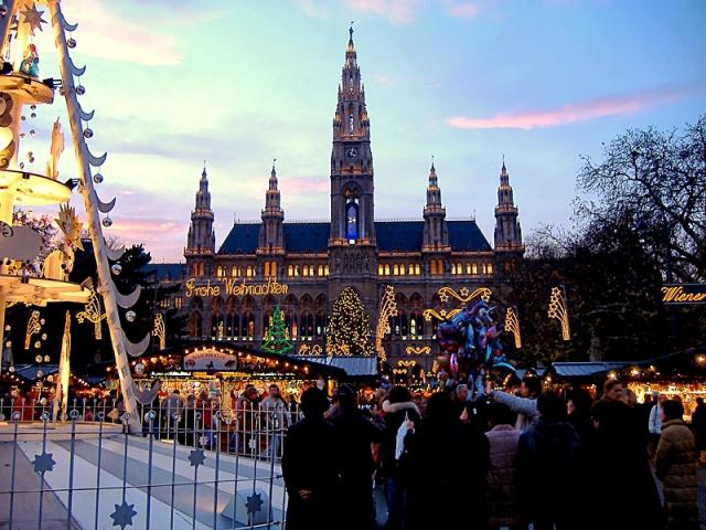 5 перших різдвяних базарів: Відень