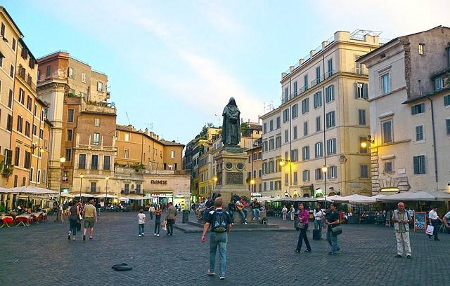 Достопримечательности Рима: Кампо ди Фьори