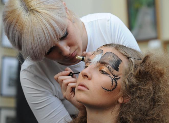 макіяж літа 2010