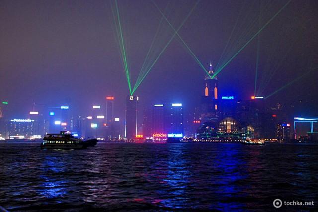 Цікаві місця Гонконгу: Шоу хмарочосів