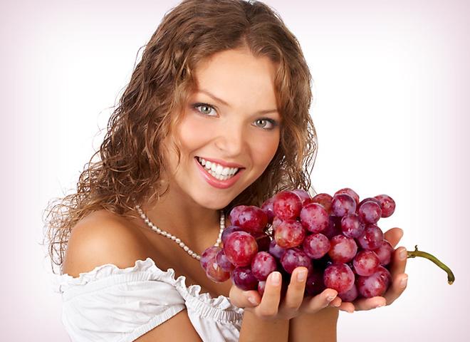 во время виноградной диеты жирное, жареное, сладкое и мучное - табу