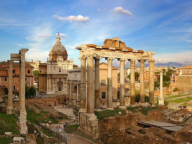 Кінотуризм: Римські пригоди