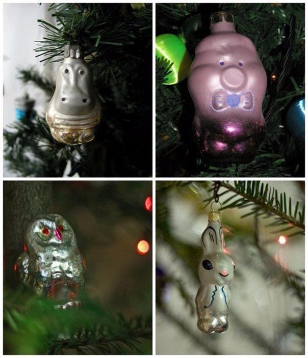 Новогодние игрушки из детства