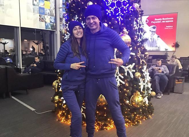 Андрей Джеджула встретил Новый год с новой возлюбленной (фото)