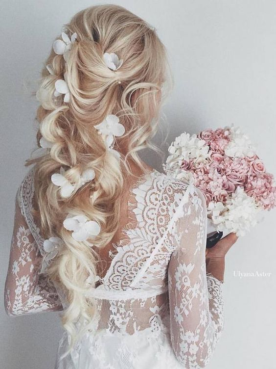 Весільні зачіски 2017