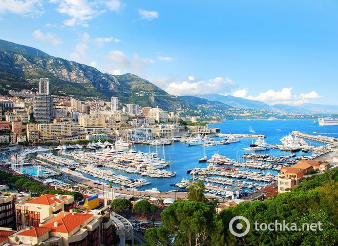 Путешествие по Монако на автомобиле