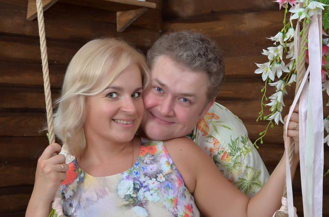 Назар Задніпровський з дружиною