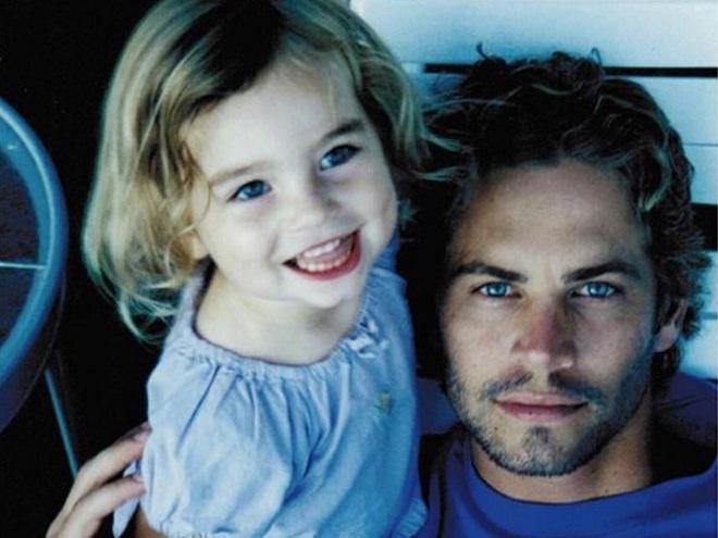 Пол Уокер з донькою