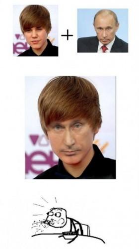 Джастин Путин или Владимир Бибер?