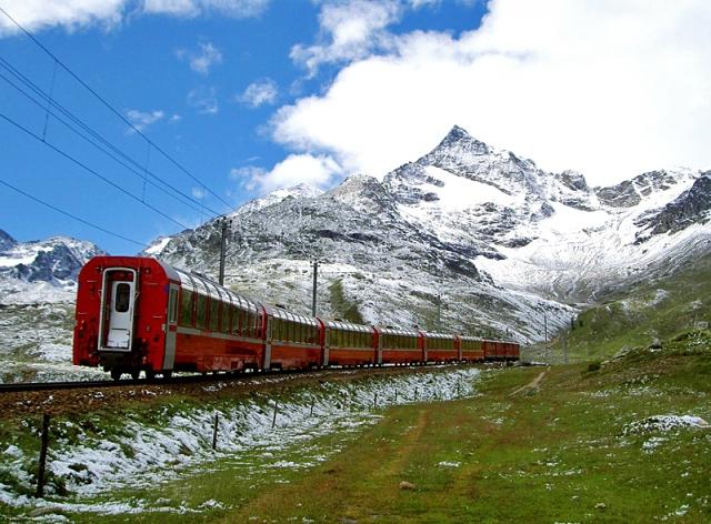 Подорож по Європі на поїзді