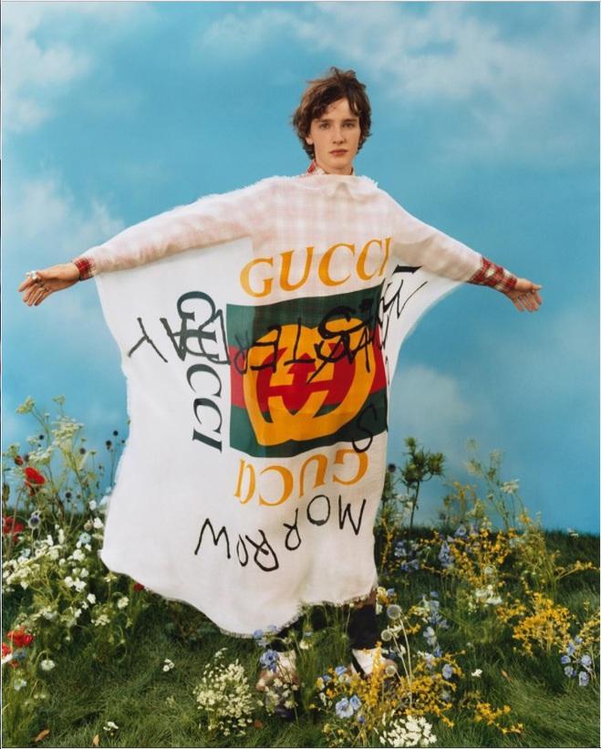 Gucci расписали одежду маркерами