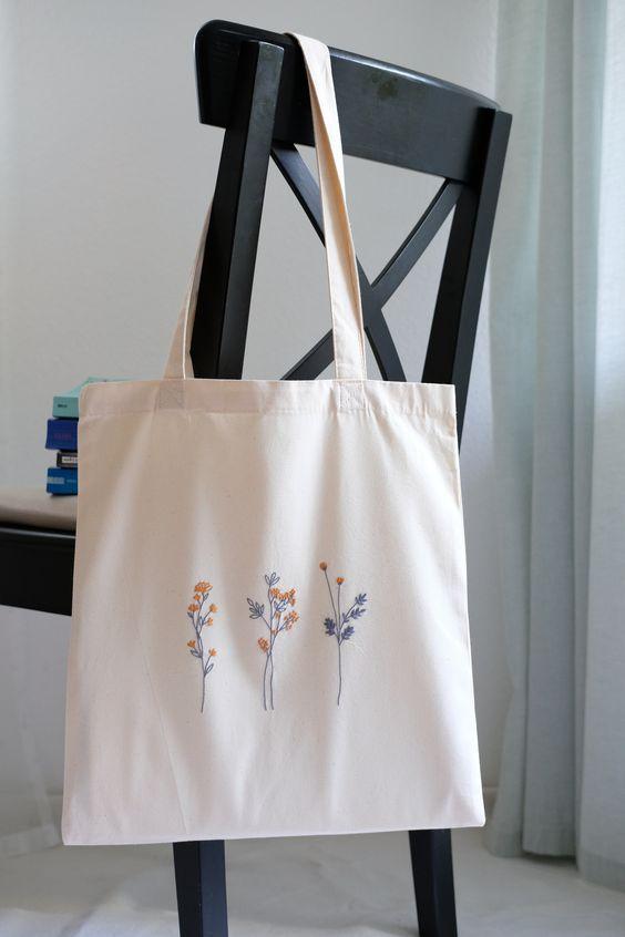 Модные тренды пляжных сумок на лето: сумки из холщевки