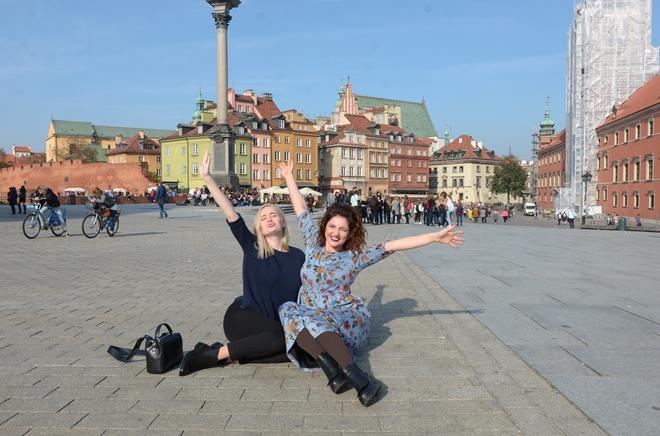 Цибульская в Варшаве