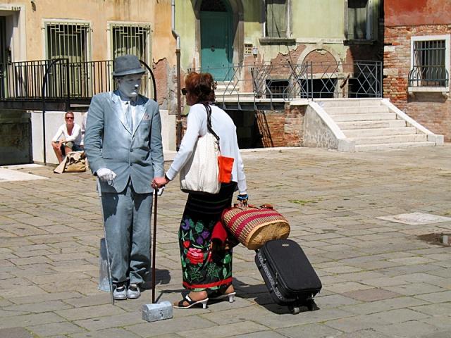 Живые скульптуры: Италия