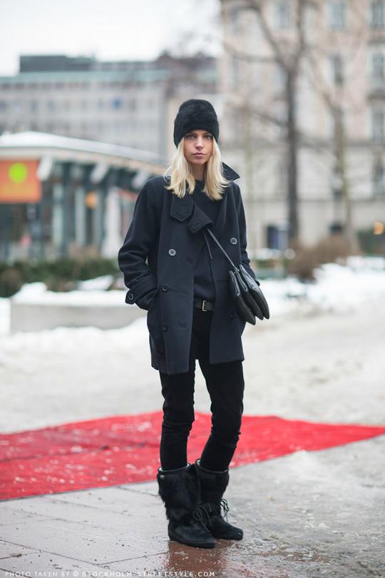 Зимові черевики: street style