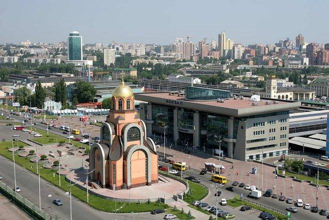 Гид по Киеву: ЖД вокзал
