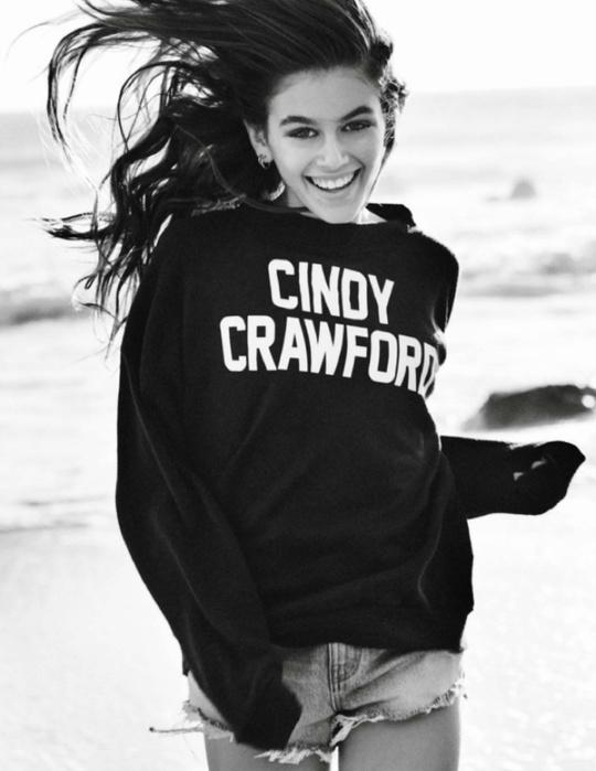 Сінді Кроуфорд nf Кайя Гербер для Vogue Paris
