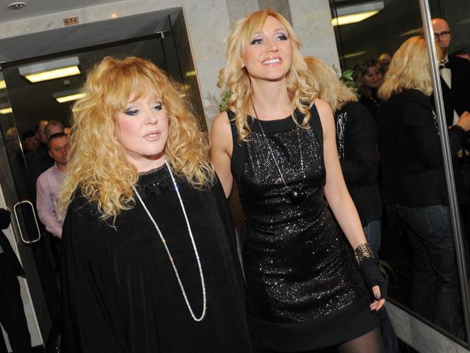 Алла Пугачева и ее дочь – певица Кристина Орбакайте