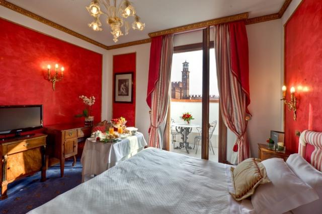 Пам'ятки Верони: Due Torri Hotel