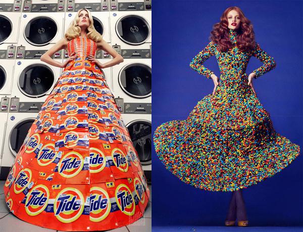 Платье своими руками для девочки из подручных материалов
