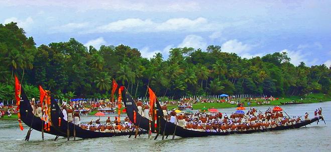 фестиваль Онам, Керала, Индия