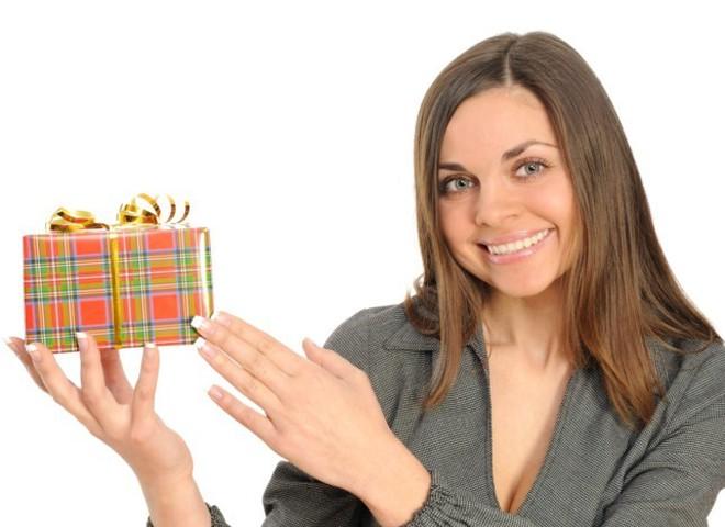 подарок